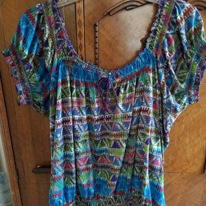Boho blouse..